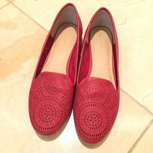 Shoes - Nine West Red Flats